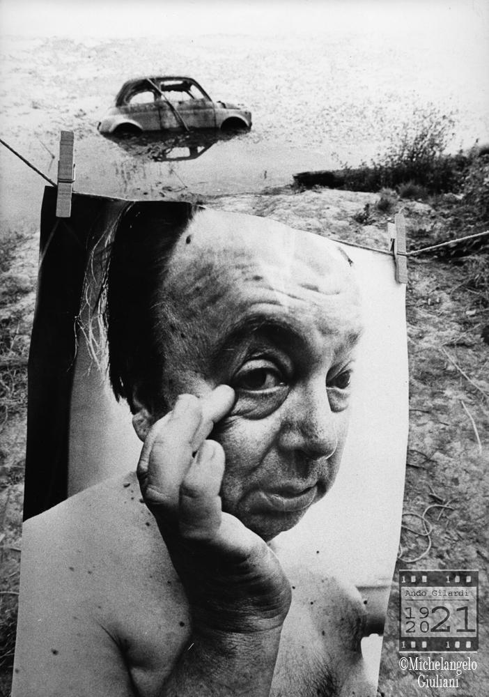 Michelangelo Giuliani, mostra bucato 1975
