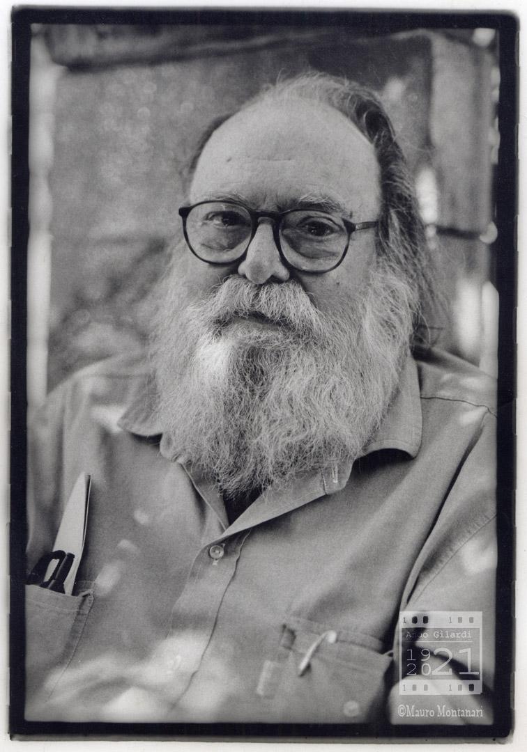 Ando Gilardi, fotografia di Mauro Montanari 2002