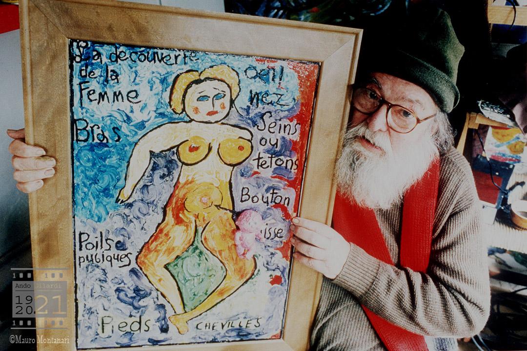 Ando Gilardi, fotografia di Mauro Montanari 1998