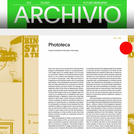 Archivio Magazine anni 80