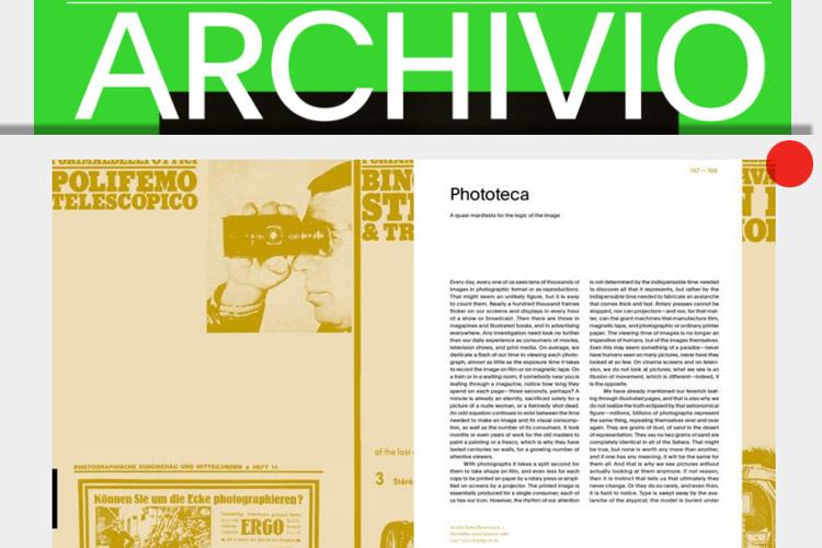 Archivio magazine n° 6