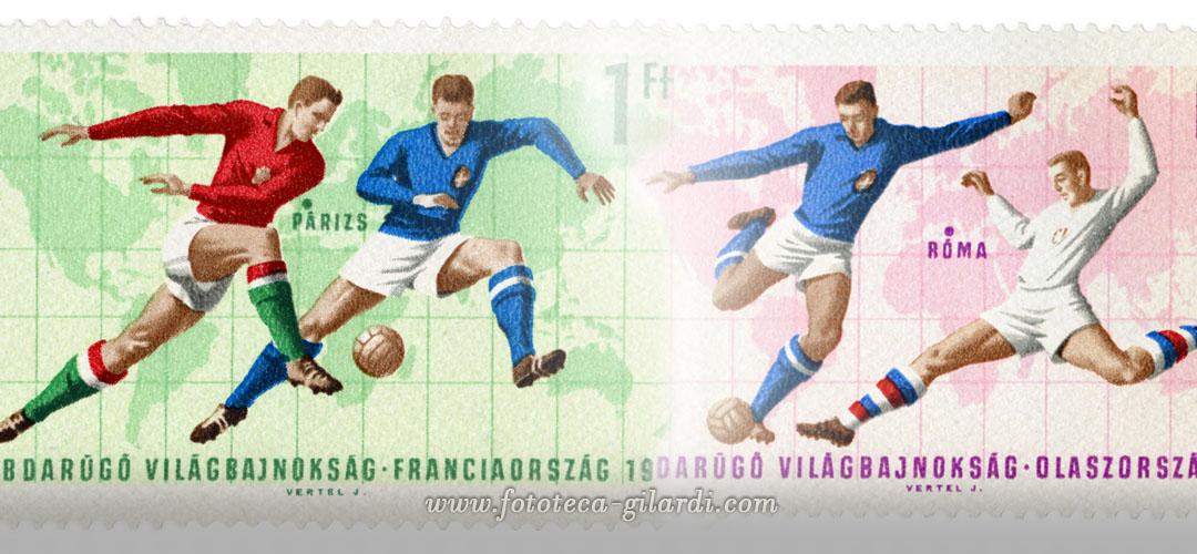 """Francobollo della serie """"Coppa del mondo FIFA 1966 - Regno Unito"""""""