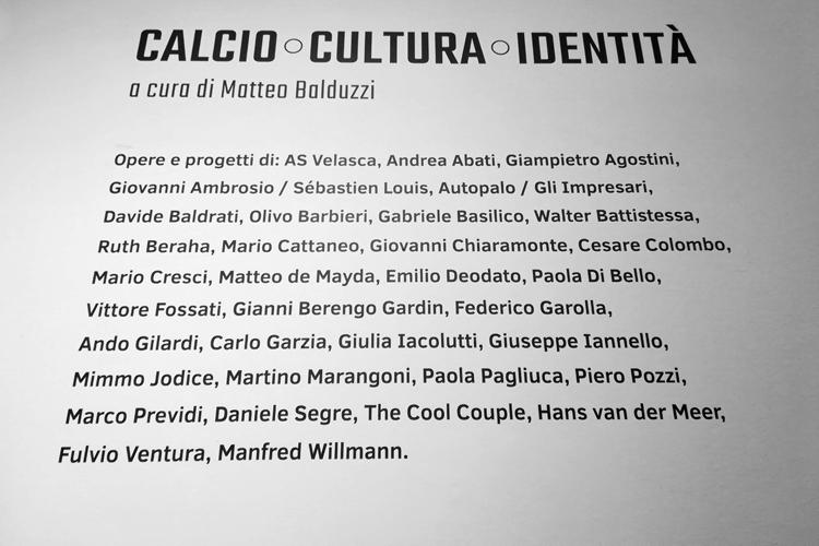 CHI NON SALTA. Calcio. Cultura. Identità 12.06>24.10.2021