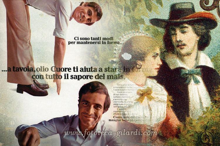 omaggio a Nino Castelnuovo, attore e testimonal per alimentazione salutista