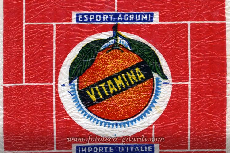 Vitamina - Velina per la protezione delle arance