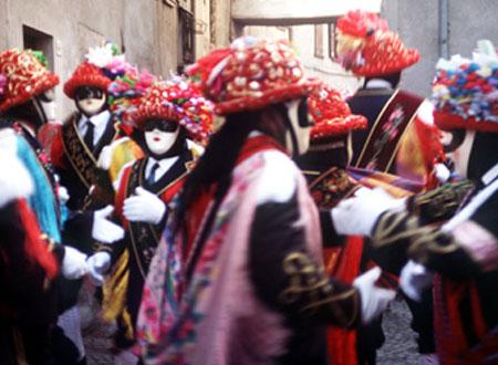 ballerini del carnevale, Ponte Caffaro - Bagolino